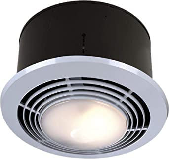 Broan Nutone 9093wh Exhaust Fan Heater And Light Combo Bathroom