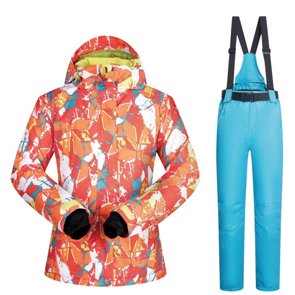 ChenYongPing Giacca Giacca Giacca da Sci Alta Tecnologia Impermeabile Antivento da Donna Colourful Snowboard Jacket Jacket Pants Set Ski Suit Snowboard Jacket  Pant Abbigliamento da Sci IdealeB07L3LW2T4XX-Large Light blu Pants | Abile Fabbricazione  | Liquidazione  | c96503