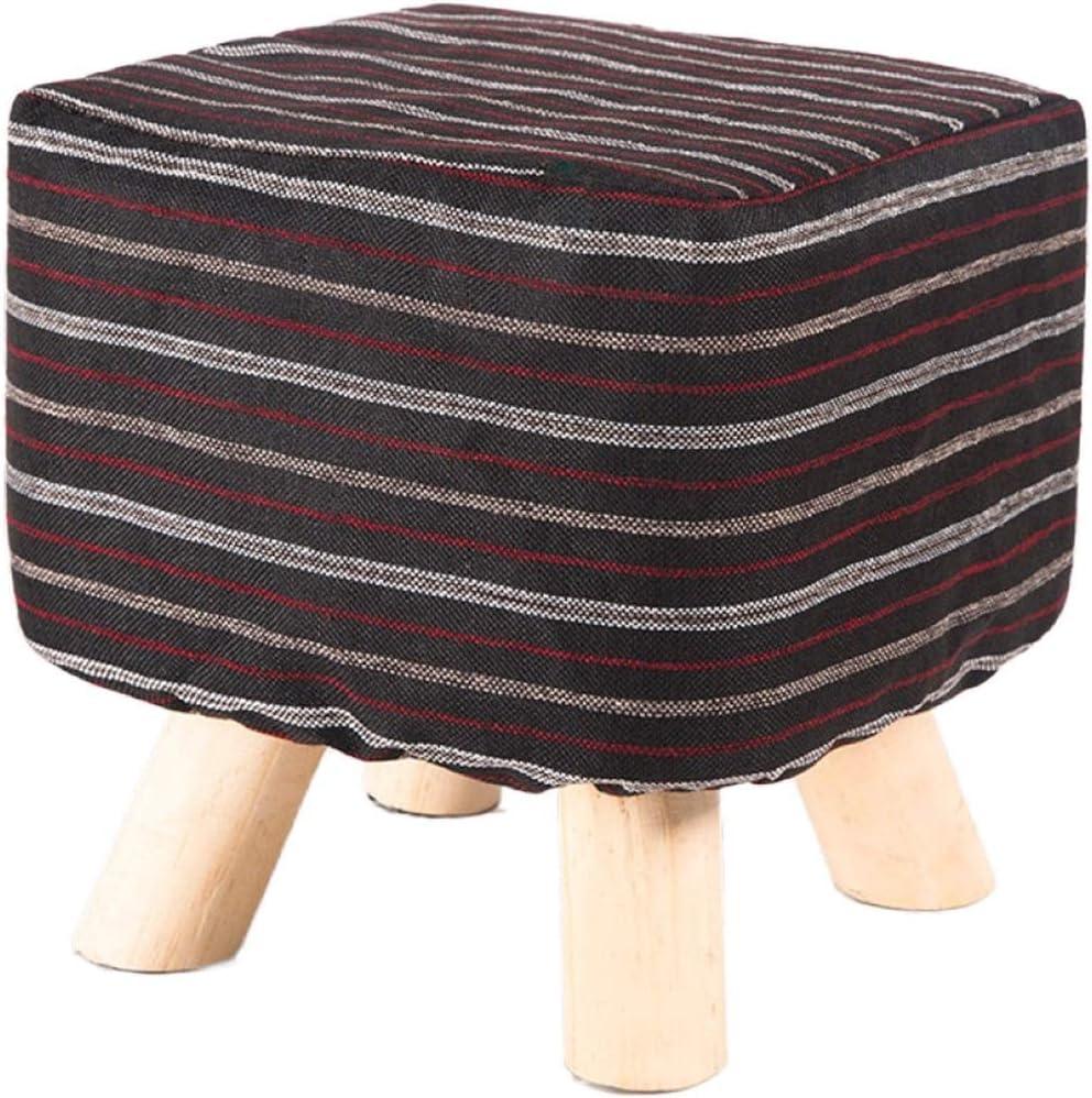 YUMUO Paño Otomano,Taburete Diseño Simple Mesa Lateral De Reposapiés Banqueta Escabel Versátil para Casa Jardín Salón N: Amazon.es: Hogar