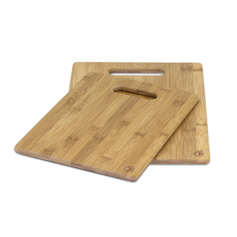 Unbekannt Totally Bamboo BA202038 2er-Set Schneidbretter 28 und 33 cm Sets