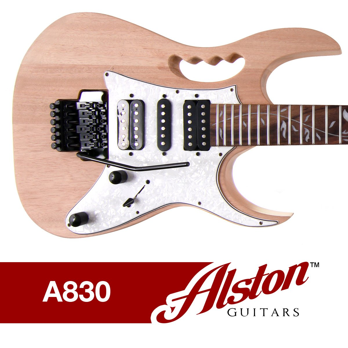Amazon.com: Alston Guitars - DIY Electric Guitar Kit | Bolt-On | Solid  Mahogany Body | Monkey Grip: Musical Instruments