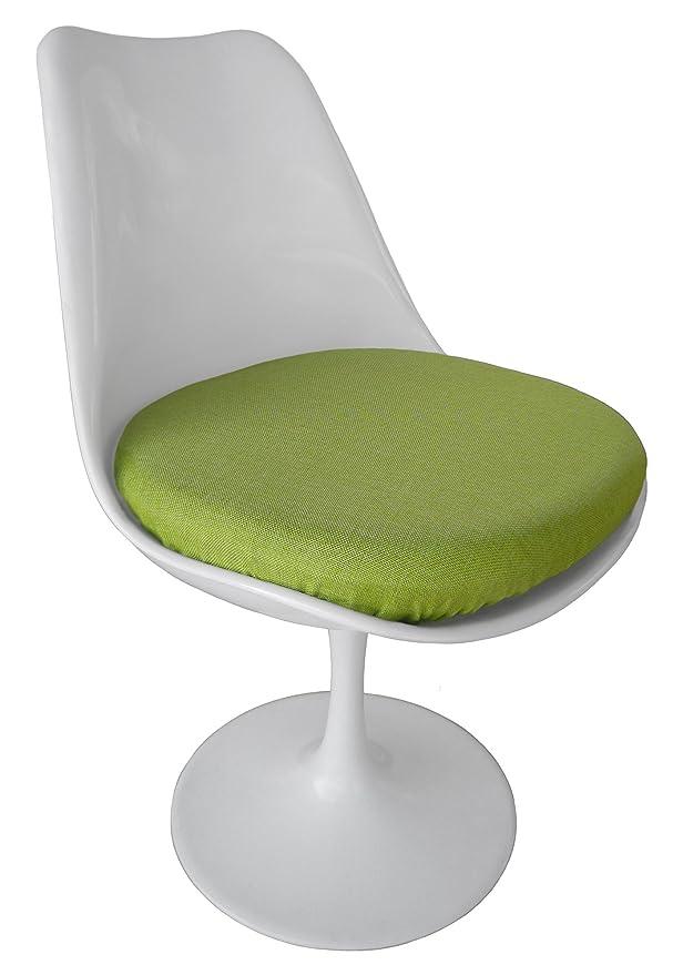 Amazon.com: Silla TULIP, color verde – Funda de cojín (Poly ...