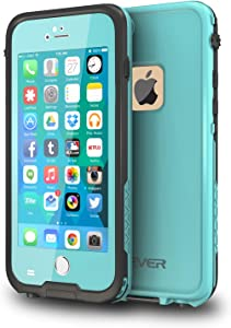 CellEver iPhone 6 Plus / 6s Plus Case Waterproof Shockproof IP68 Certified SandProof Snowproof Diving Full Body Protective Cover Fits Apple iPhone 6 Plus and 6s Plus (5.5
