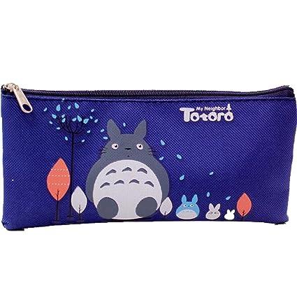 Mi vecino Totoro Morado Logo estuche: Amazon.es: Oficina y ...