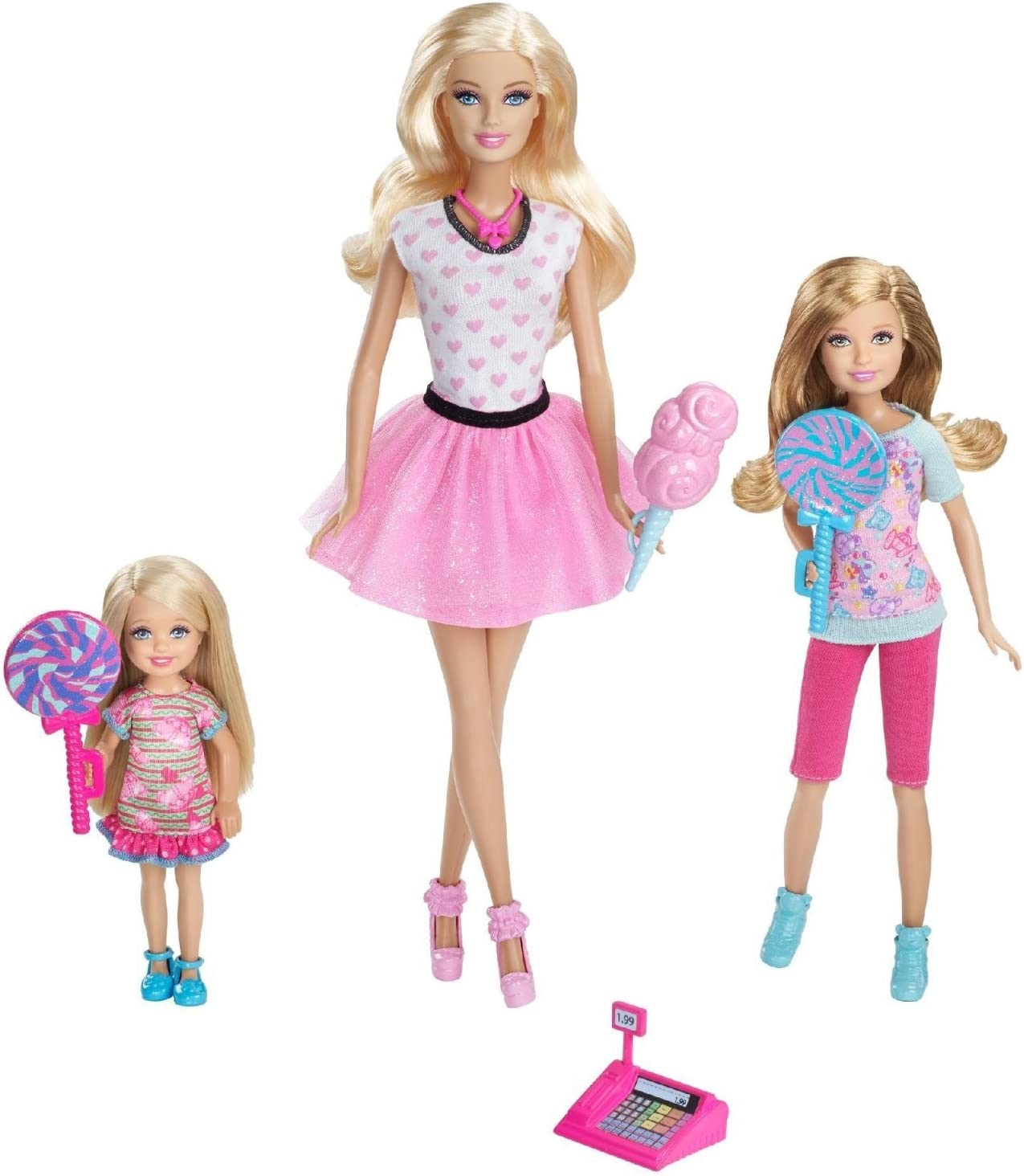 Amazon.es: Barbie Sisters Candy Shop Playset: Juguetes y juegos