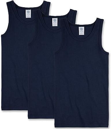 Sanetta Niños Camiseta Interior Paquete de 3 - Camiseta sin Brazos ...