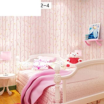 Kinderzimmer Tapete/Bunten Holz Schlafzimmer grüne Tapete ...