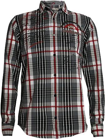 Desigual Hombre Diseñador Camisa - ABC -