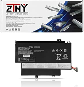 "ZTHY 45N1706 Laptop Battery Replacement for Lenovo ThinkPad 12.5"" S1 Yoga Series Notebook 45N1707 45N1704 45N1705 14.8V 47Wh 3180mAh"