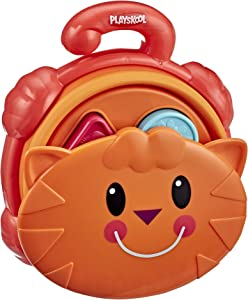 Playskool Pop Up Shape Sorter Toy for Toddlers Over 18 Months with Take-Apart Shapes for Matching, Collapsible for Storage (Amazon Exclusive)