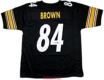antonio brown signed jersey