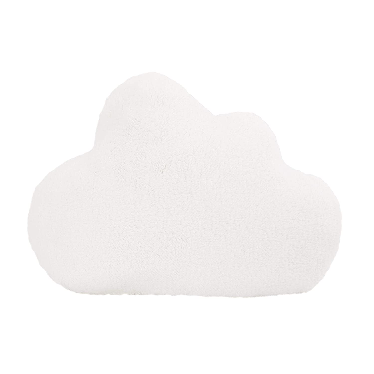 Little Love by NoJo Cloud Shaped Pillow, White : Baby