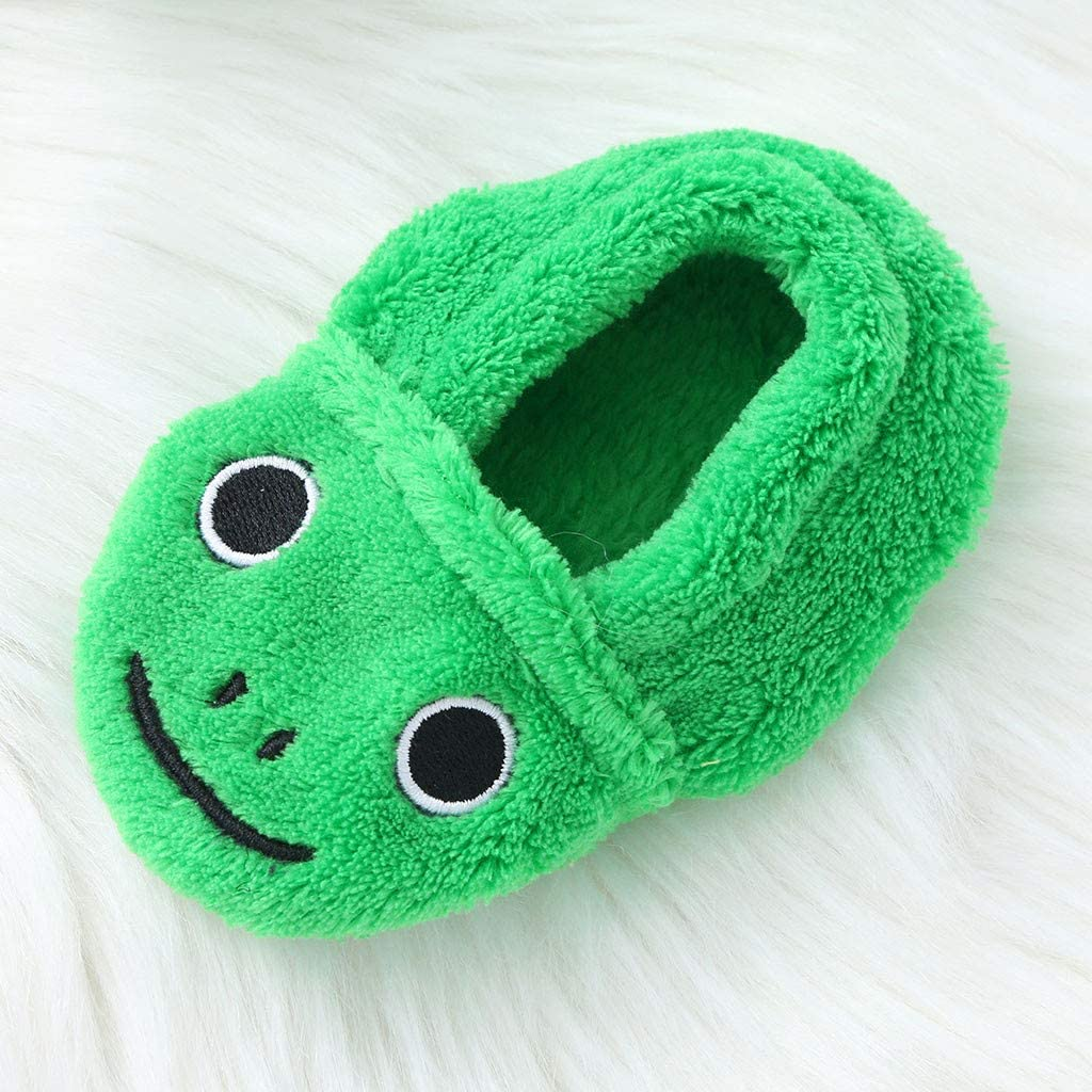 Hoodie Sleepwear+Footwear Outfits KASSD Infant Boys Girls Cartoon Duck Frog Print Flannel Bathrobes 0-12 Months 0-6 Months, Green-Frog