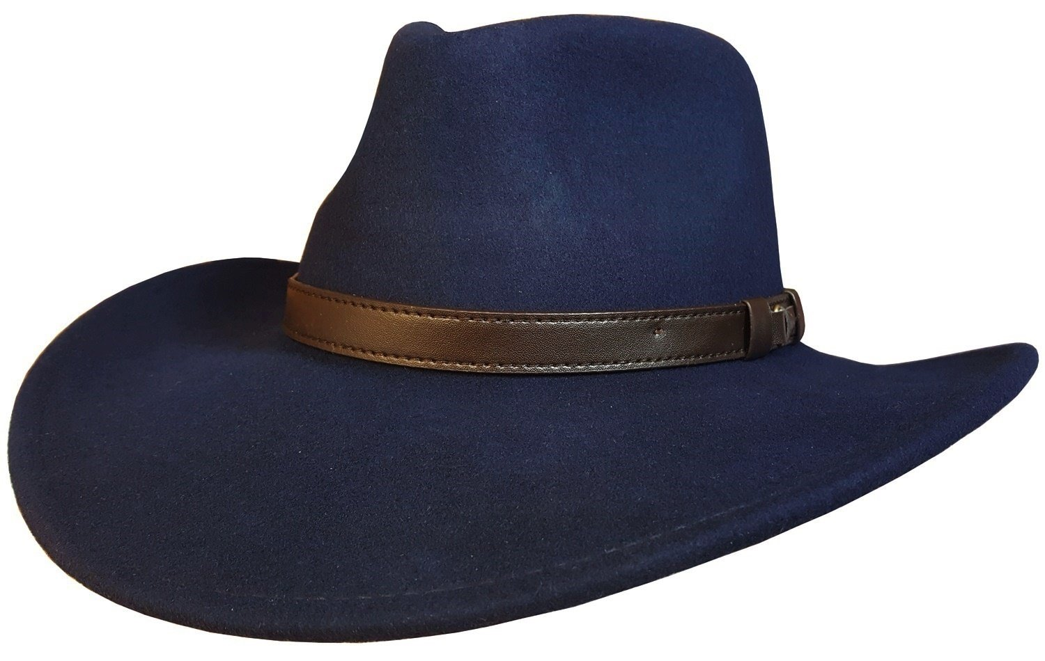 99e27c098e547 MAZ Mens or Womens Crushable Cowboy Hat 100% Wool Stetson Style Hat ...