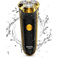 FLYCO Afeitadora Electrica Hombre FS360EU,Afeitar Hombre Electrica Afeitadora Barba Máquina De Afeitar Para Hombre Recortadora Barba,Recargable Maquinilla de Afeitar