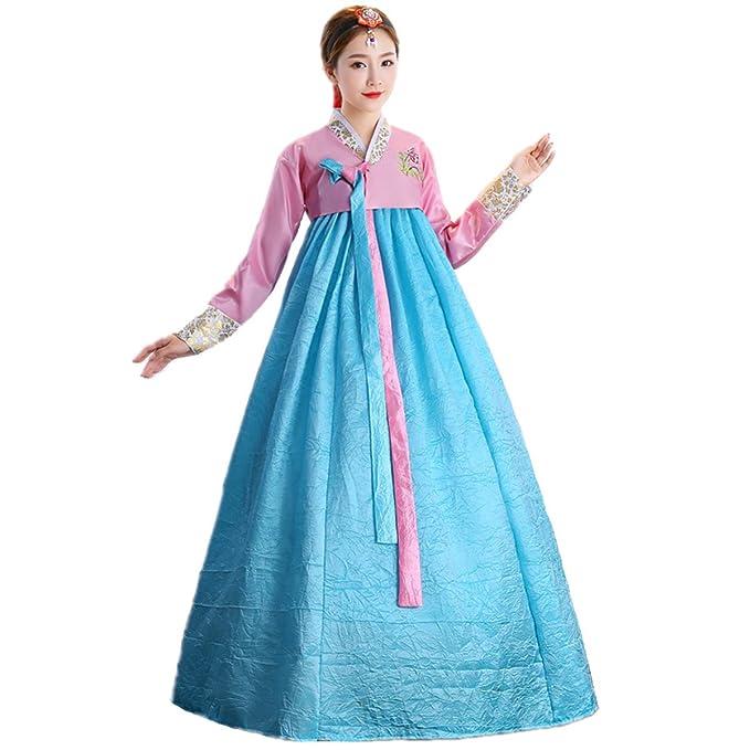 Amazon.com: Xinfu coreano tradicional juego de Hanbok para ...