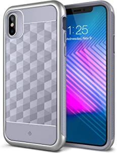 Caseology Parallax for Apple iPhone Xs Case (2018) / for iPhone X Case (2017) - Award Winning Design - Ocean Gray