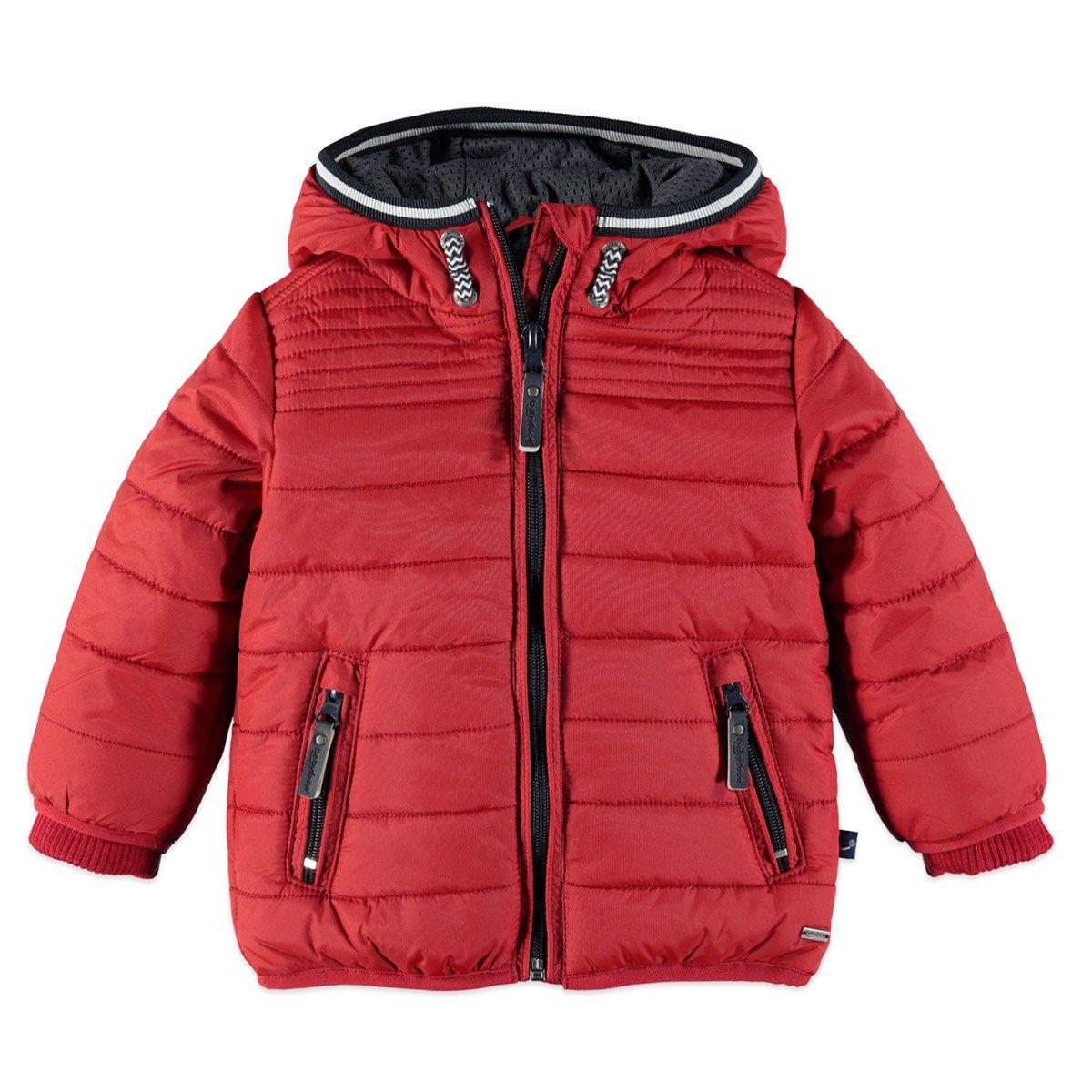 Babyface Jungen Winterjacke mit Kapuze in rot