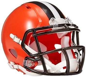 Riddell NFL Cleveland Browns Replica Mini Casco, Medio, Negro/Naranja: Amazon.es: Deportes y aire libre