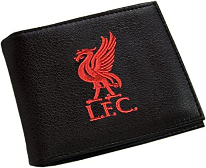 Black Leather Wallet Liverpool F.C