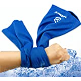 FREEMAN スポーツタオル 旅行タオル- マイクロ ファイバー 吸水 速乾 軽く 柔らかく 持ち運びやすい 収納便利 旅行用品 バスタオル 2枚セット 6色 5つのサイズ
