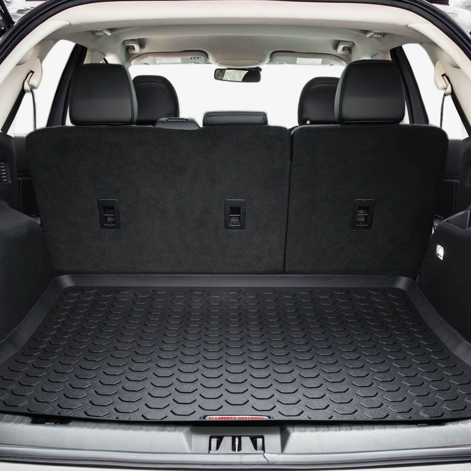 Amazon.com: 2015 - 2018 Ford Edge Cargo Mat by Elements Defender  (GUARANTEED PERFECT FIT) Heavy-Duty All-Weather Trunk & Cargo Liner - 100%  Weather Proof ...