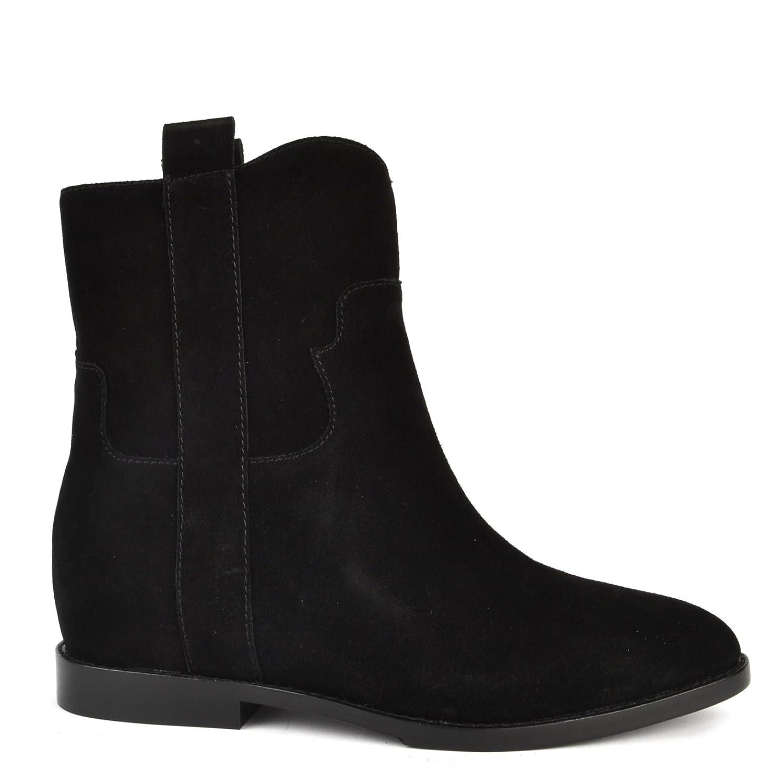 Ash Zapatos Jane Botines de Ante Negro Mujer39 EU|Negro