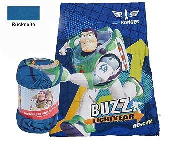 Disney Toy Story Kinder Bettdecke Microfaser Kuscheldecke Babydecke