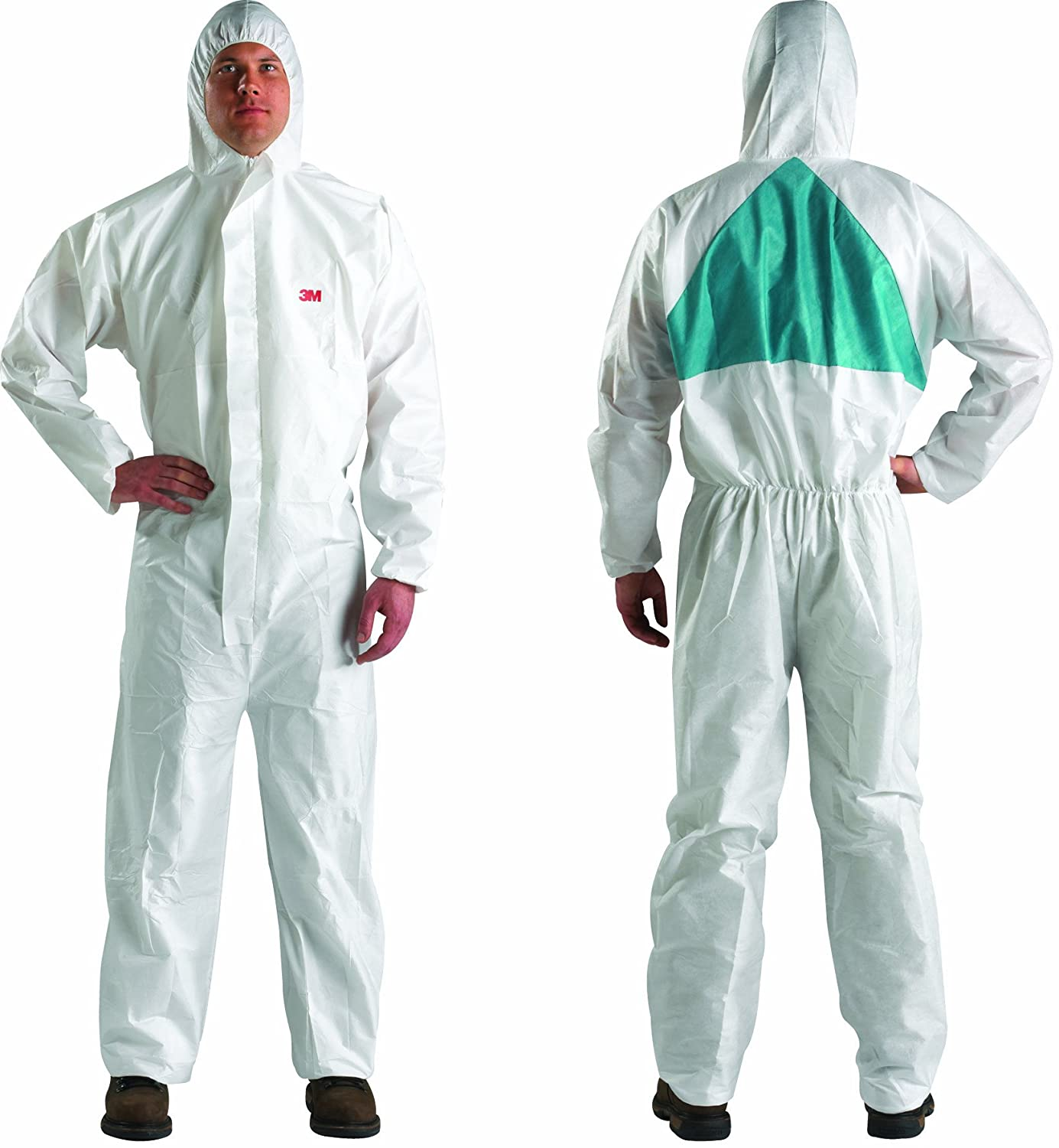 3M Disposable Protective Coverall Safety Work Wear 4520-L 25/Case: Industrial & Scientific