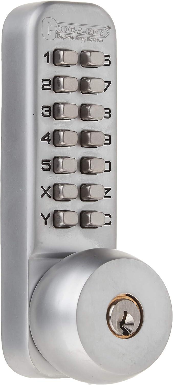 Fdit Double‑Sided Mechanical Password Lock Zinc Alloy Double‑Sided Mechanical Password Lock with Keys Courtyard Door Coded Lock Home Supplies