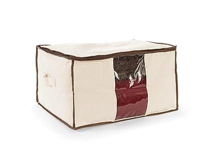 amazon com covermates canvas blanket storage bag 21l x 18w x