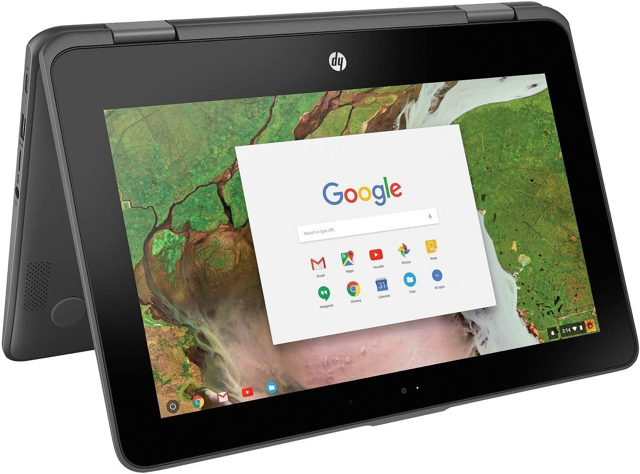 Newest HP 2-in-1 Business Chromebook 11.6in HD IPS Touchscreen, Intel Celeron N3350 Processor, 4GB Ram 16GB SSD, Intel HD Graphics, WiFi, Webcam, Google Chrome OS- Gray (Renewed)