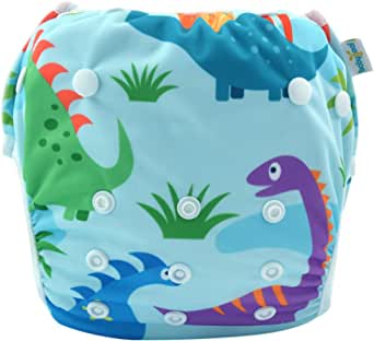 babygoal Baby Reusable Swim Diaper, Washable and Adjustable for Babies 0-2 Years, Swimming Lessons
