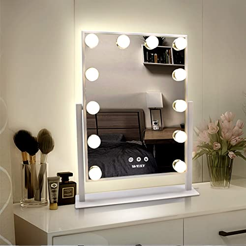 WEILY Hollywood Makeup Mirror
