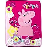 Entertainment One Peppa Pig Peppa's Picnic Micro Raschel Throw, 46 x 60