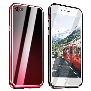 Funda Compatible para iPhone 7/iPhone 8 Adsorción Magnética ...