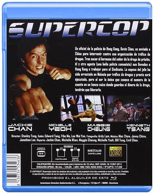 Amazon.com: Supercop (Blu-ray) [1992] (Import Movie ...