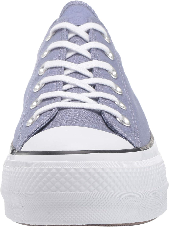 Converse Women's Chuck Taylor All Star Lift Seasonal Canvas Sneaker Stellar Indigo White Black IQYqan