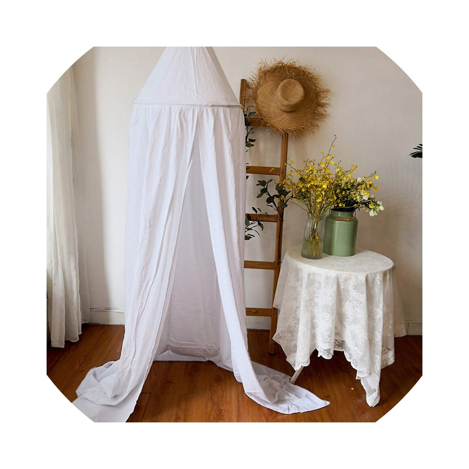 Baby Bed Canopy Bedcover Round Mosquito Net Curtain Modern Simple Home Textile Living New Patterns,WH by Alovelycloud bed curtain (Image #1)