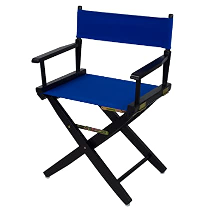 Amazing American Trails Extra Wide Premium 18 Directors Chair Black Frame With Royal Blue Canvas Unemploymentrelief Wooden Chair Designs For Living Room Unemploymentrelieforg