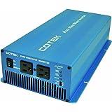 COTEK(コーテック) 正弦波インバーター 出力1500W/12V 周波数50/60Hz 歪み率3%以下 SKシリーズ SK1500-112