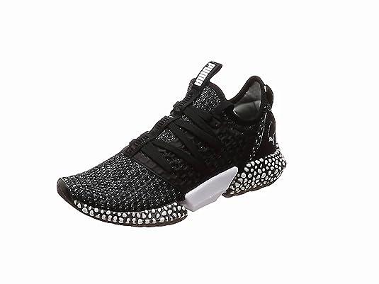Puma Hybrid Rocket Netfit, Zapatillas de Running para Hombre, Blanco White Black 02,