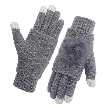 203ae784894 Vodabang Guantes de Pantalla Táctil Invierno Caliente Guantes Touchscreen  Gloves Deporte Al Aire Libre: Amazon.es: Deportes y aire libre