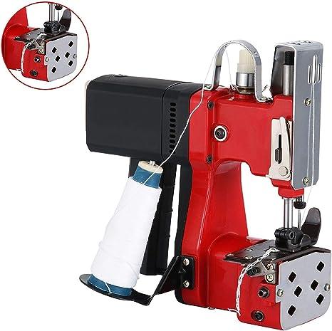 4YANG Máquina de cierre de bolsas 220V Máquina de coser portátil ...