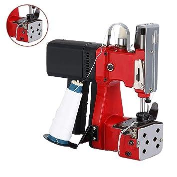 4YANG Máquina de cierre de bolsas 220V Máquina de coser portátil Máquina de coser eléctrica de ...
