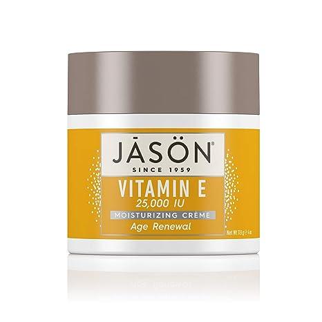 Jason Crema Facial, Vitamina E 25000 UI, 113 gr