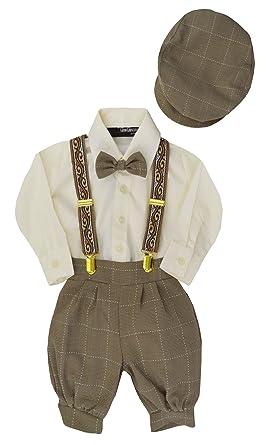 Amazon.com  Gino Giovanni Baby Boys Vintage Knickers Outfit ... e7782b4faac2