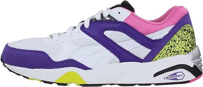 puma trinomic r698 violet