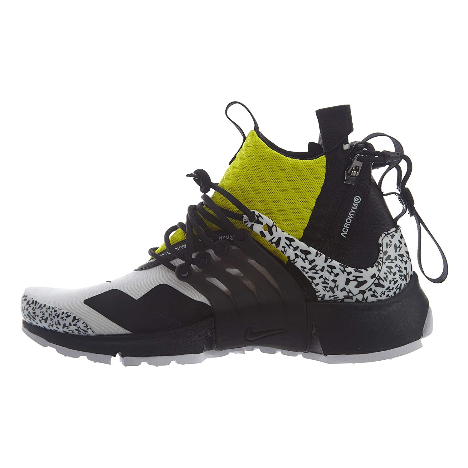 355c2e942e8f1 Nike Air Presto Mid/Acronym Mens Hi Top Trainers Ah7832 Sneakers Shoes