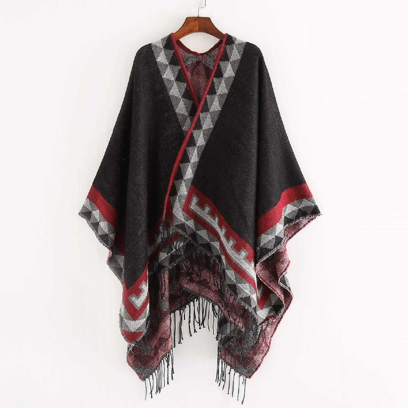 Tsmile Women Soft Cotton Hemp Wrap Shawl Winter Long Scarves Plaid Fringe Evening Long Cashmere Wool Scarf Pashmina